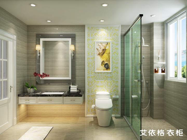 高档白色欧式整屋140平方设计图