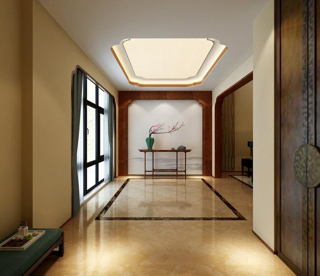 上海別墅裝修禪意中式風格設計展示!