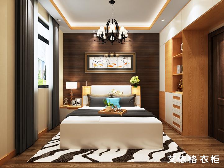 160平方4房简约实木定制家具装修设计